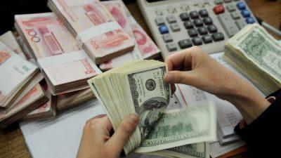 $76 млрд за два месяца — отток капитала из Китая усиливается