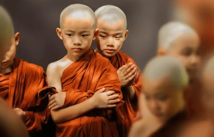 Буддийские монахи-дети. Фото: pexels.com/ru-ru/@pixabay | Epoch Times Россия