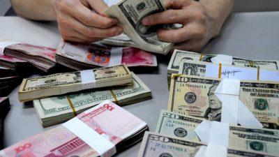 Властям КНР сложно диверсифицировать $1,3 трлн казначейских облигаций США