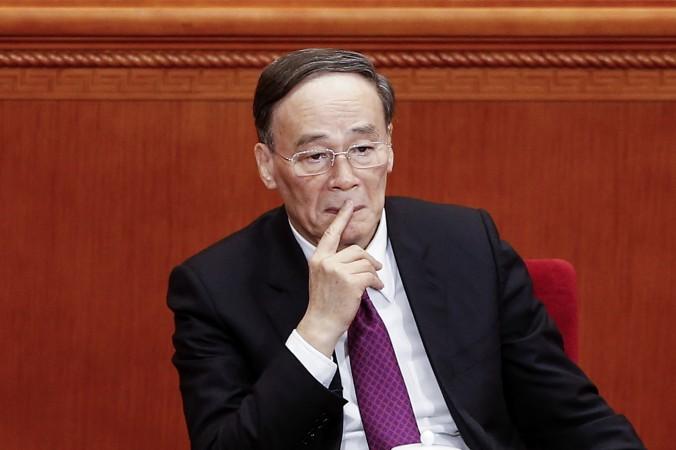Секретарь центральной комиссии дисциплинарной инспекции Ван Цишань. Фото: Lintao Zhang/Getty Images | Epoch Times Россия