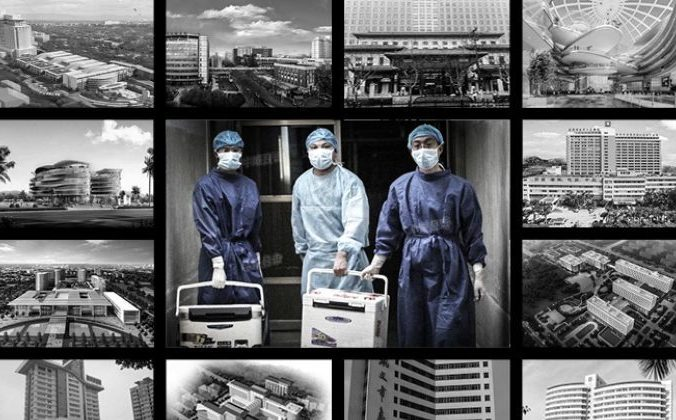 Некоторые из 700 с лишним трансплантационных больниц в Китае. В центре врачи, несущие свежие органы для пересадки в больнице в провинции Хэнань 16 августа 2012 года. Фото: The Epoch Times   Epoch Times Россия