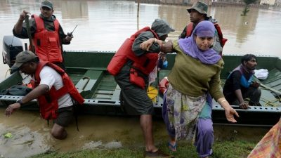 Власти Индии признали наводнение в Джамму и Кашмире национальным бедствием
