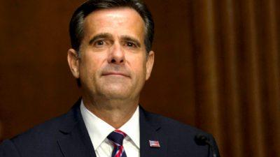 ЦРУ скрыло вмешательство китайской компартии в выборы президента США, сообщил директор Национальной разведки