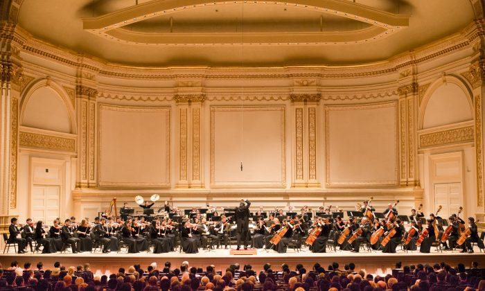 Выступление симфонического оркестра Shen Yun в Карнеги-холле в Нью-Йорке 5 октября 2013 г. (Dai Bing / Epoch Times)   Epoch Times Россия