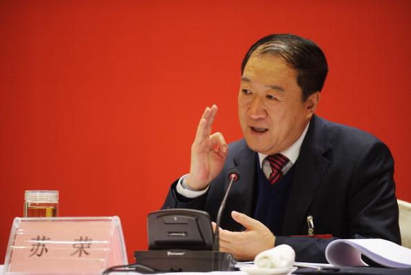Бывший высокопоставленный чиновник КПК Су Жун выступает на собрании в городе Наньчан провинции Цзянси 1 февраля 2012 года. Власти Китая недавно сообщили, что дела трёх высокопоставленных чиновников, включая Су Жуна, переданы в судебные органы. Фото: STR/AFP/Getty Images   Epoch Times Россия