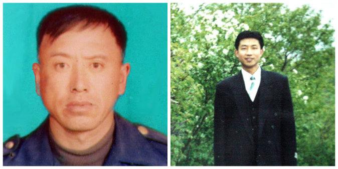 Сун Венхуа (слева) и Чжун Хунвэй. Фото: Minghui.org | Epoch Times Россия