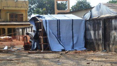 Российский полевой госпиталь для больных Эболой доставлен в Гвинею
