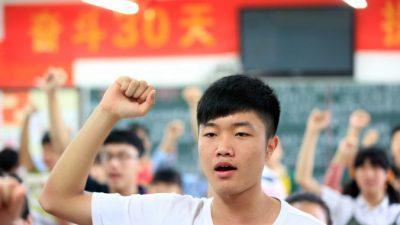 «Учиться до смерти» и ещё пять экстремальных лозунгов в школах Китая