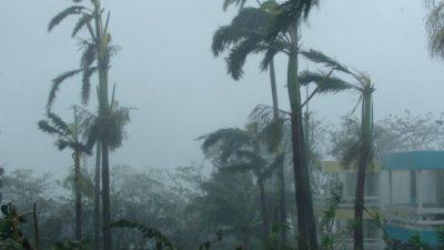На берега Японии обрушился тайфун «Вонфонг»
