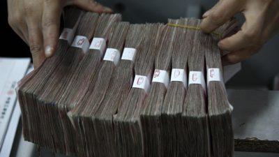 Мелкий деревенский чиновник в Китае набрал взяток на десятки миллионов