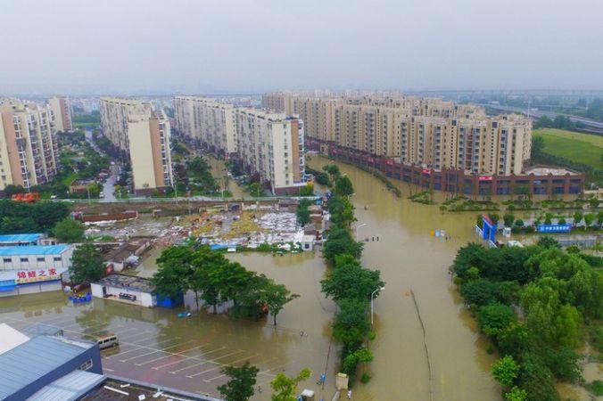 Наводнения в южном Китае. Провинция Цзянсу. Июль 2016 года. Фото: VCG/VCG via Getty Images   Epoch Times Россия