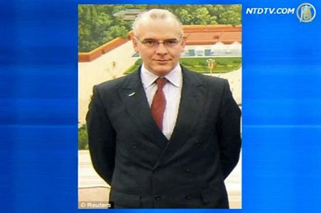 Убитый в 2011 году в Китае британский бизнесмен Нил Хейвуд. Недавно его мать потребовала у режима компенсацию. Фото: скриншот/NTDTV | Epoch Times Россия