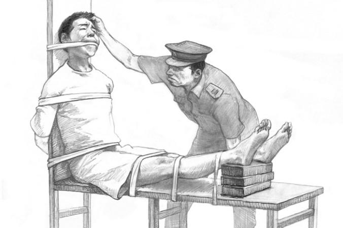 Иллюстрации пыток, применяемых к сторонникам Фалуньгун в китайских тюрьмах и лагерях. Источник: epochtimes.com   Epoch Times Россия