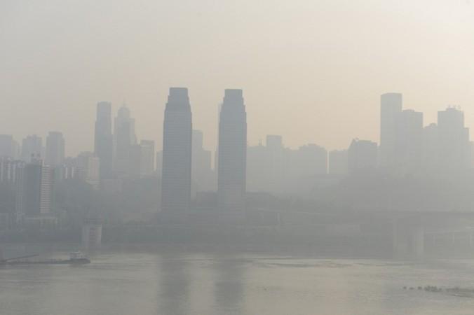 Смог в Китае. Октябрь 2014 года. Фото: epochtimes.com | Epoch Times Россия