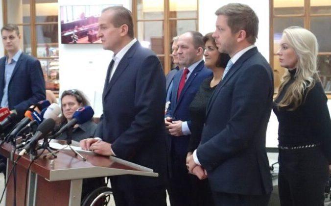 Вит Канковски выступает на пресс-конференции в Палате депутатов Чешской Республики. 28 ноября 2019 года. Milan Kajinek/The Epoch Times   Epoch Times Россия