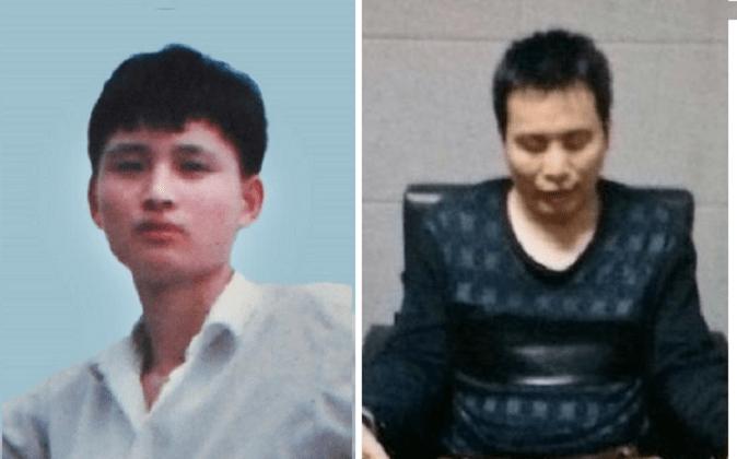Ян Чжунген в молодости (слева) и его младший брат Ян Чжуншэн были замучены китайской полицией за то, что они отказались отказаться от практики Фалуньгун. (Минхуэй) | Epoch Times Россия