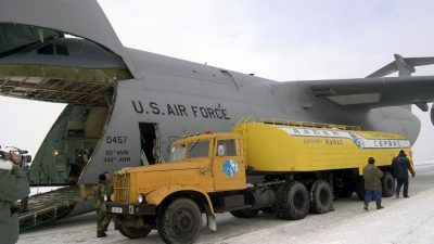 Американская военная база в Киргизии готовится к закрытию