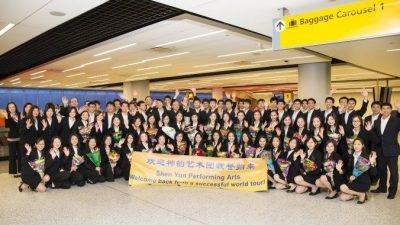 Международная труппа Shen Yun возвращается в Нью-Йорк из мирового турне