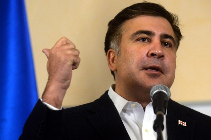 Михаил Саакашвили. Фото: VASILY MAXIMOV/AFP/Getty Images   Epoch Times Россия