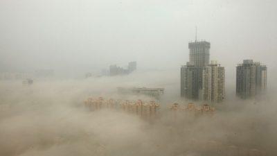 Китай всё ещё находится во власти смога