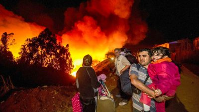 В Ливии горят 6 миллионов литров нефти