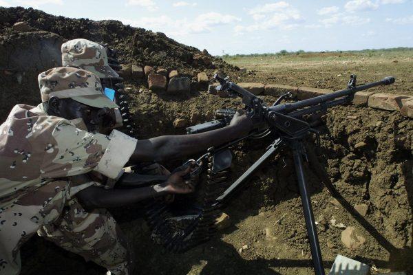 Повстанцы Народно-освободительной армии Судана. Фото: SIMON MAINA/AFP/Getty Images | Epoch Times Россия