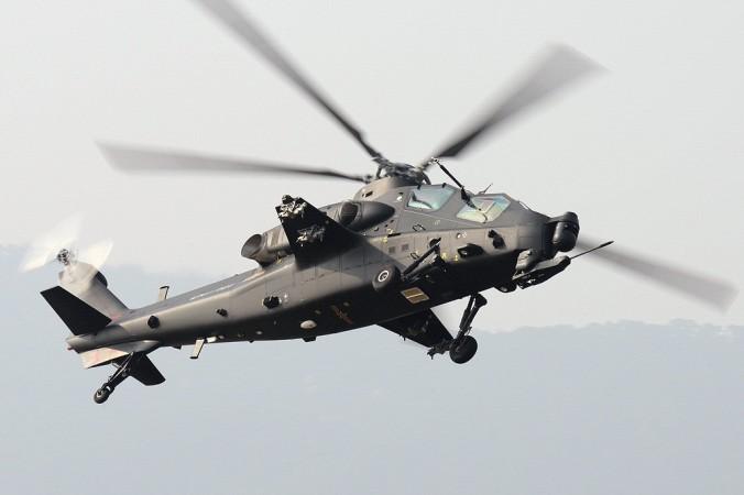 Китайский вертолёт Changhe Z-10 очень сильно напоминает американский «Чёрный ястреб». Фото: Shimin Gu/Wikimedia Commons/GNU Free Documentation License   Epoch Times Россия