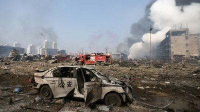 Жизнь после взрыва в Тяньцзине
