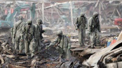 Взрывы в Тяньцзине могли привести к заражению воды цианидом