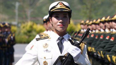 В китайском военном параде примут участие девушки-модели