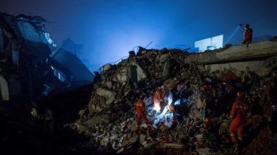 Из-под завалов в Шэньчжэне извлечён первый выживший