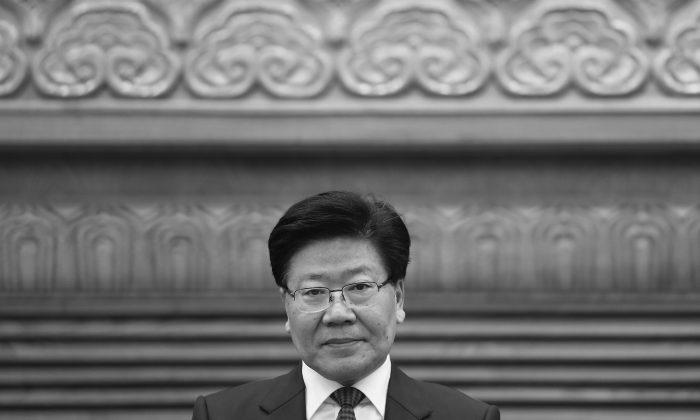 Во время ежегодных двух сессий Китая, когда зарубежный репортер спросил: «Поддерживаете ли вы руководство Си Цзиньпина?» Секретарь партии Синьцзян Чжан Чуньсянь ответил: «Поговорим позже». Ответ привлек широкое внимание и получил дальнейшую интерпретацию. (Getty Images) | Epoch Times Россия