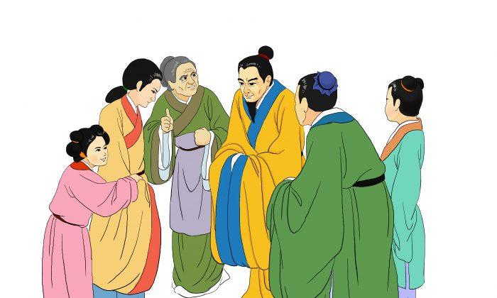 Люди, получившие доброту, отдают дань уважения своему благодетелю. «Иметь добродетельных граждан, добрых к своим ближним, - это драгоценное сокровище для страны», - гласит древняя китайская поговорка. (Zhiching Chen/Epoch Times) | Epoch Times Россия
