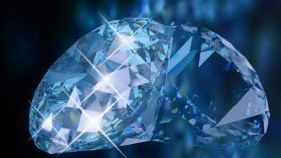 Редкий голубой алмаз найден в Южной Африке