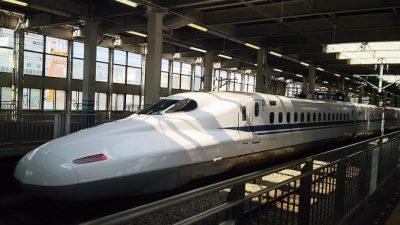 Японский поезд-пуля отмечает 50-летие