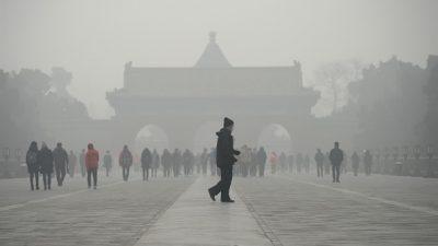 Отчёт: В Китае загрязнены 75% городов