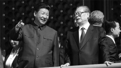 Бывший глава Китая появился на параде, но борьба внутри компартии продолжается