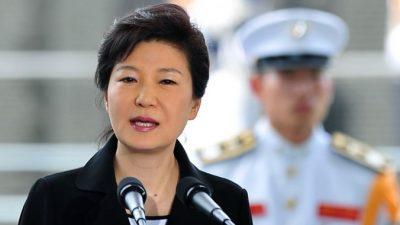 Президент Южной Кореи взяла на себя ответственность за крушение парома