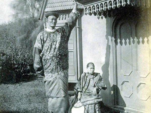 Китайцы-гиганты: старые фотографии