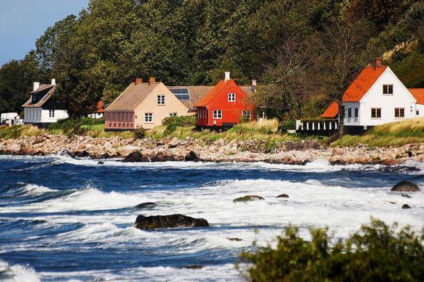 Остров Борнхольм в Балтийском море. (CC BY SA 3.0) | Epoch Times Россия