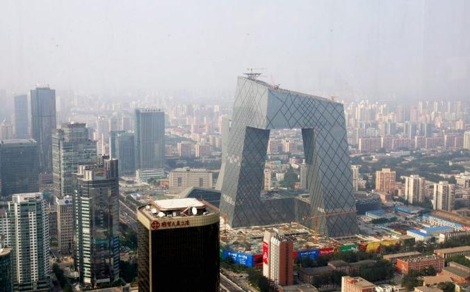 Центральный деловой район в Пекине, Китай, 12 августа 2008 года. China Photos/Getty Images   Epoch Times Россия