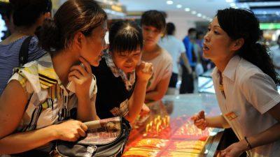 Китай стремится получить контроль над мировым рынком золота