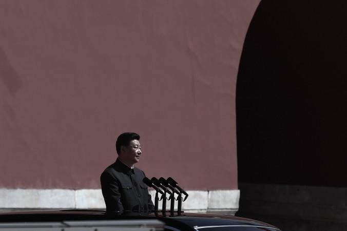 Китайский президент Си Цзиньпин готовится к смотру народно-освободительной армии на военном параде в честь 70-летней годовщины окончания Второй мировой войны 3 сентября 2015 года, Пекин. Фото: Wang Zhao — Pool /Getty Images | Epoch Times Россия