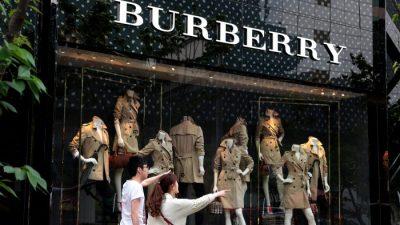 В Китае падает спрос на брендовые товары