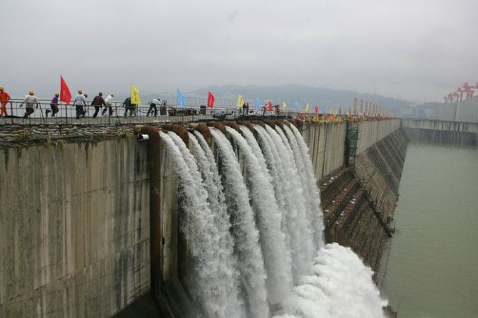 Гидроэлектростанция «Три ущелья» в Китае. Фото: China Photos/Getty Images   Epoch Times Россия