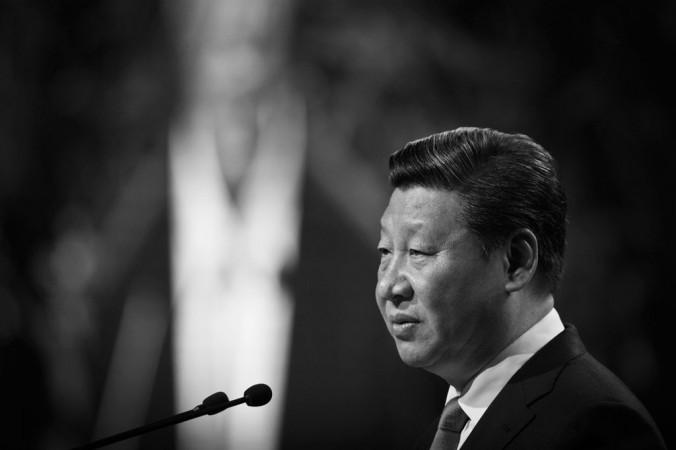 Председатель КНР Си Цзиньпин выступает в Окленде, Новая Зеландия, 21 ноября 2014 года. Фото: Greg Bowker/Getty Images   Epoch Times Россия