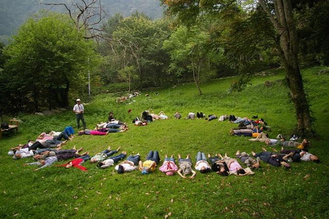 Фотография с веб-сайта Юань Цзюня о том, как он представляет свою школу природы. (через Чжунчжоу) | Epoch Times Россия