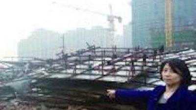 Китайские власти снесли дом, когда владелица была в отъезде