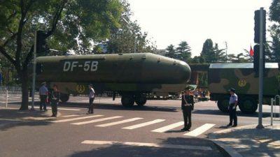 Китай испытал ракету DF-5C с десятью ядерными боеголовками