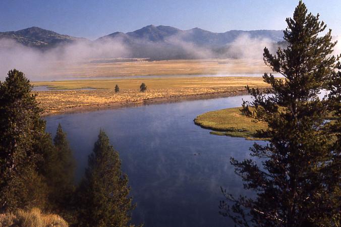1200px Yellowstonesteam 676x450 1 - Учёные: Вероятность извержения вулкан Йеллоустоун сохраняется уже много лет
